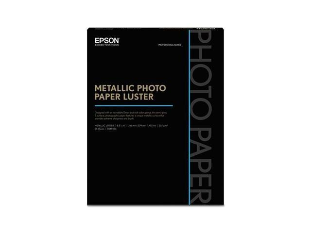Epson Professional Media Metallic Photo Paper Luster EPSS045596