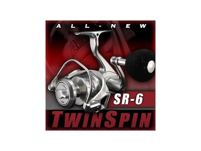 Accurate sr 6 twinspin spinning reel for Mighty mite fishing pole
