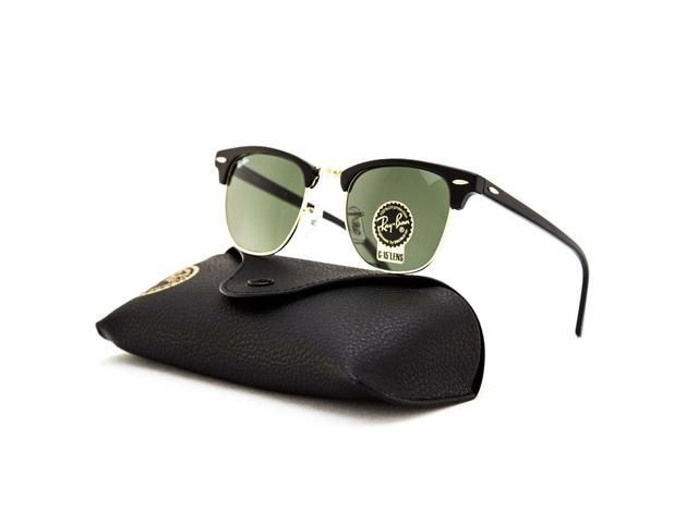 rb3016 w0365 49 21  Ray-Ban RB3016 Clubmaster Classic Sunglasses (49mm)-Newegg.com