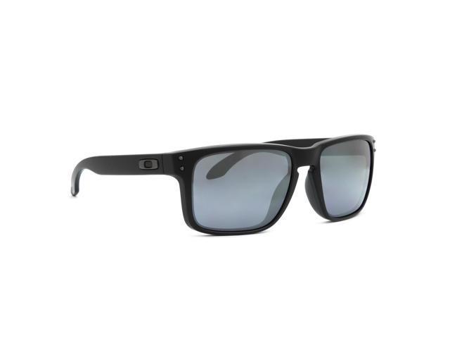oakley matte black holbrook ci2f  Oakley OO9102-63 Holbrook Sunglasses
