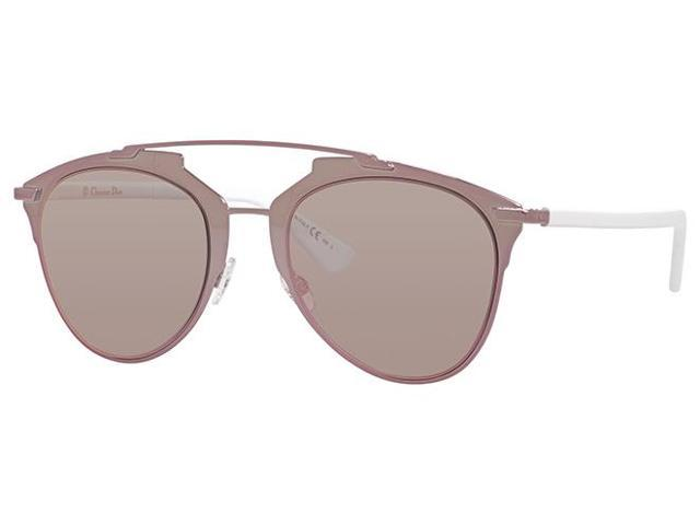 8bfb22bcd402 Christian Dior Reflected Sunglasses M2Q0J Pink White Frame   Pink Mirrored  Lens - www.cepar