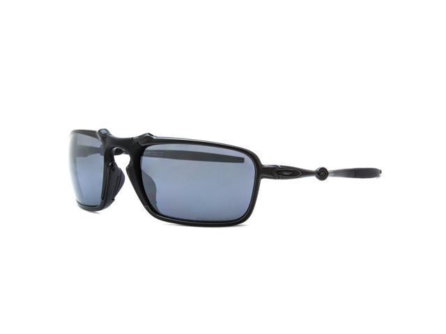 1134420f71 Oakley Badman Sunglasses OO6020-01 Dark Carbon   Black Iridium ...