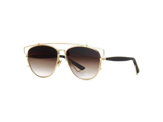 Aviator Sunglasses Gold Frame Black Lens : Dior Technologic Aviator Sunglasses RHL86 Gold Black Frame ...