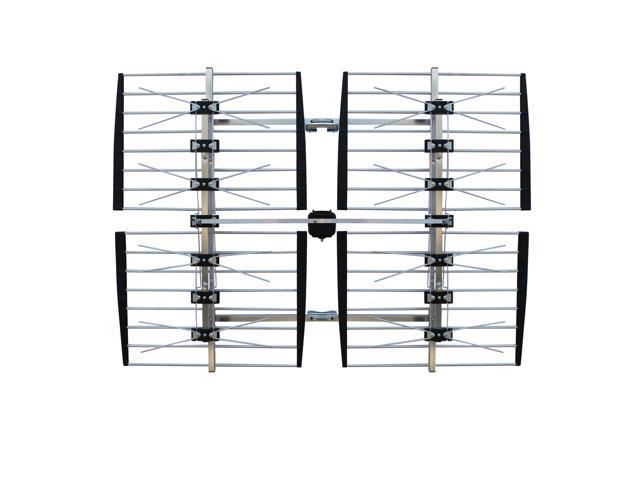 Focus Antennas Long-Range Outdoor HDTV Antenna 8-Bay 80+ mi/130+ km UHF/VHF Antenna (BEST-8HD)