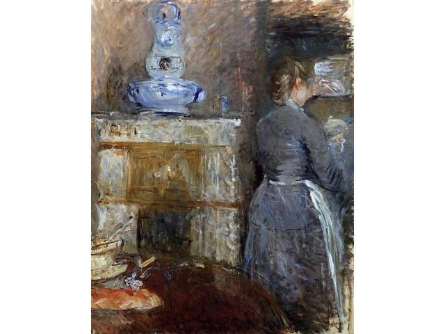 berthe morisot the dining room of the rouart family 30 beautiful paintings by berthe morisot