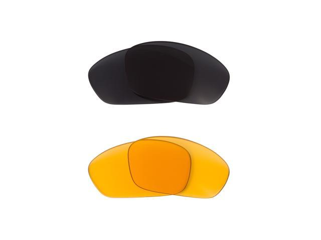 Best SEEK Replacement Lenses for Oakley STRAIGHT JACKET HI Yellow Grey