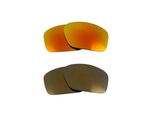 Best SEEK Replacement Lenses for Oakley SCALPEL Gold Yellow Mirror