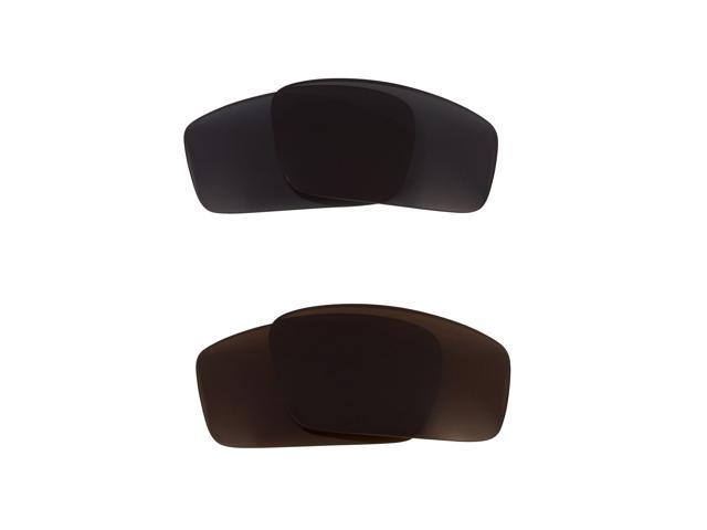 Best SEEK Replacement Lenses for Oakley SQUARE WIRE (2006) Brown Grey