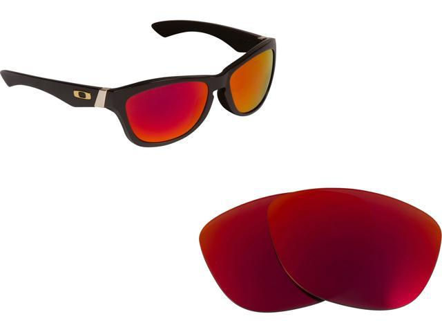 Best SEEK Polarized Replacement Lenses for Oakley Sunglasses JUPITER Red Mirror