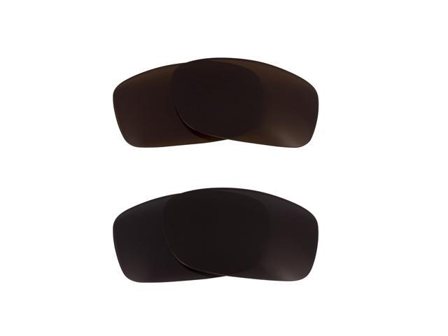 Best SEEK Replacement Lenses for Oakley Sunglasses FIVES 3.0 Black Brown