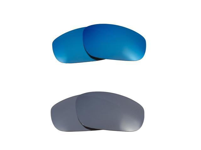 Best SEEK Replacement Lenses for Oakley Sunglasses FIVES 4.0 Silver Mirror Blue