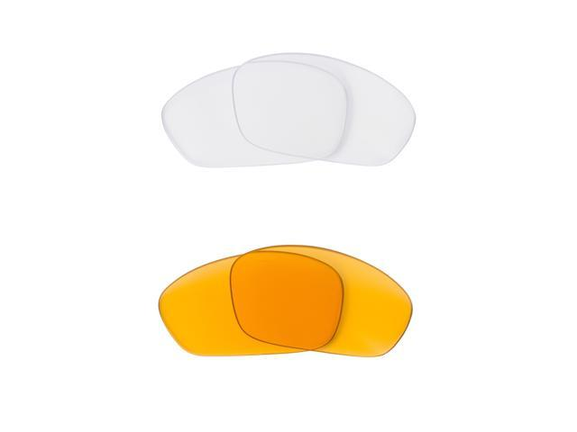 Best SEEK Replacement Lenses for Oakley STRAIGHT JACKET HI Yellow Clear