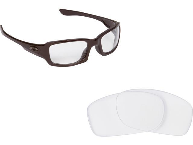 Best SEEK Replacement Lenses for Oakley Sunglasses FIVES 3.0 Crystal Clear