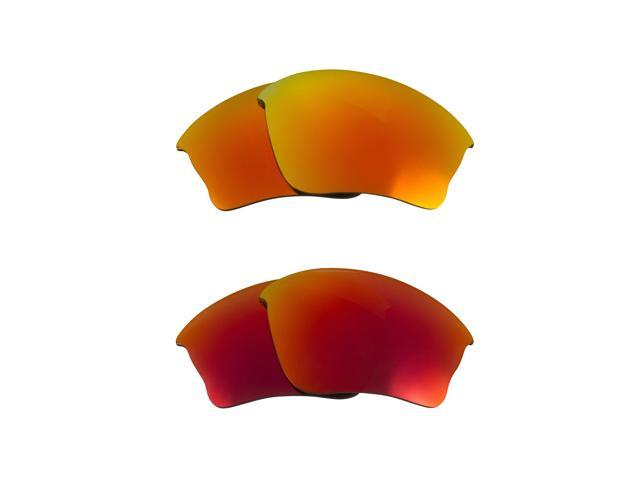 Best SEEK Replacement Lenses for Oakley HALF JACKET XLJ Red Yellow Mirror