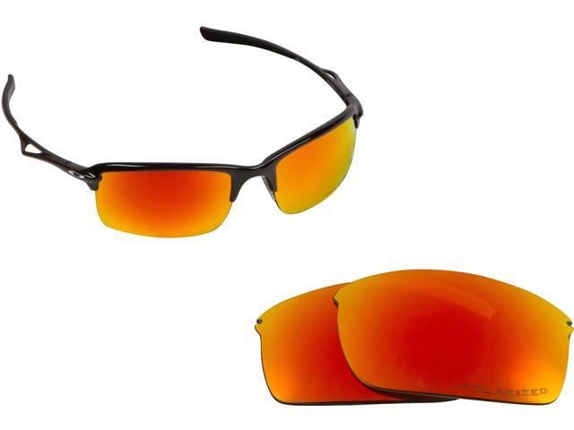 New SEEK Polarized Replacement Lenses for Oakley WIRETAP Yellow Mirror