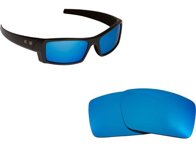 Best SEEK Replacement Lenses Oakley Sunglasses GASCAN S Small Blue Mirror