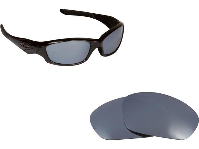 New SEEK Replacement Lenses for Oakley STRAIGHT JACKET Silver Mirror