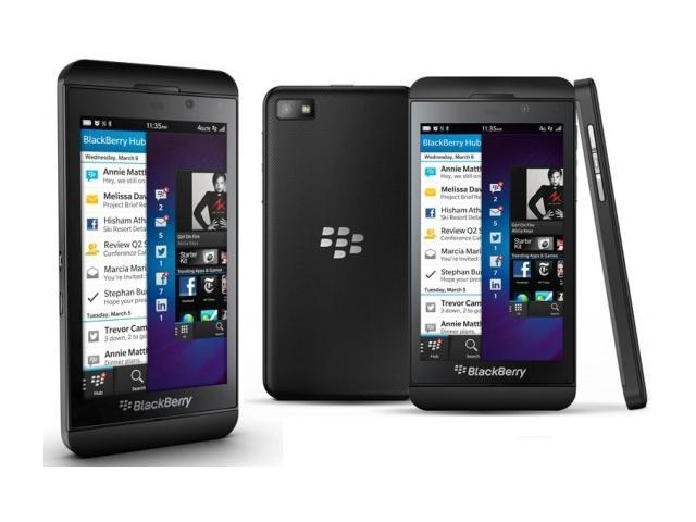 "BlackBerry Z10 / RFG81UW 16GB 3G Black 16GB Unlocked Cell Phone 4.2"" 2GB RAM"