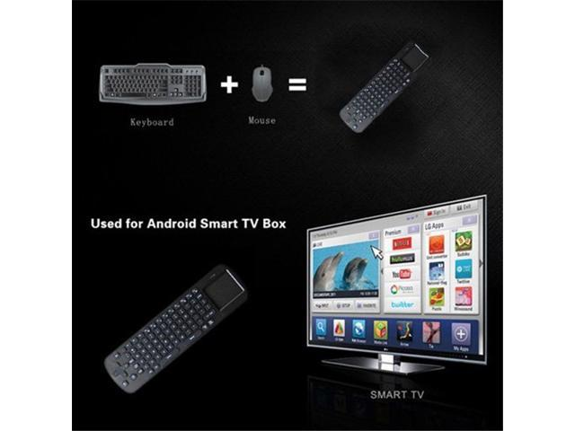 TeKit RC12 2.4GHz fly air mouse wireless mini Keyboard with Touchpad for google android Mini PC TV Palyer box