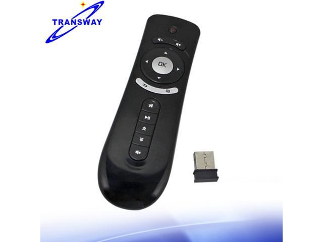 TeKit Fly Air Mouse T2 2.4G mini Wireless Keyboard Mouse Android remote control 3D Sense Motion Stick For TVBox