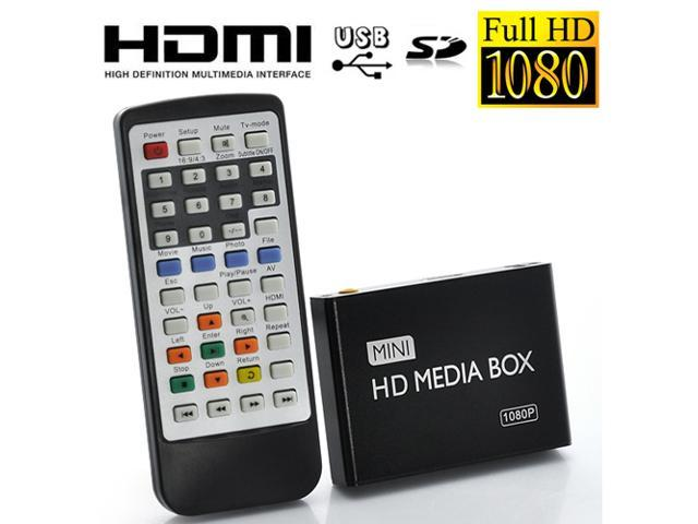 TeKit 1080P Full HD Android TV Box/ Mini Multi Media Player for TV - Supporting USB, SD Card and HDD, HDMI Output