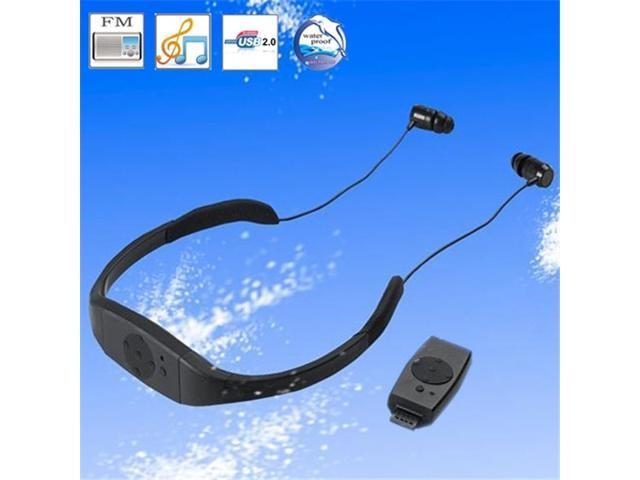 Tekit Waterproof MP3 Player with 4GB Memory and Earphone Headphone