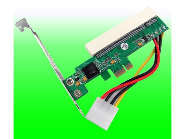 Tekit Desktop PCI-E1X TO PCI expansion card PCI-Express-to-PCI adapter
