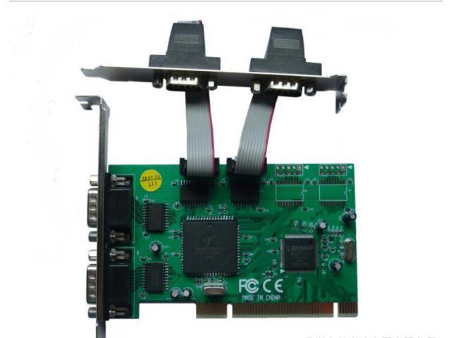 Tekit PCI to 8 serial card, pci-e8 serial card, 9-pin serial port card, RS232 serial card