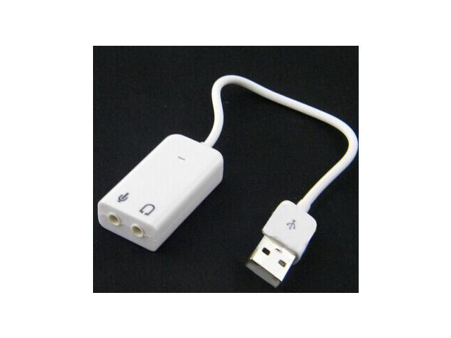 Tekit USB Sound Card USB Sound Adapter 7.1 Channel For Apple