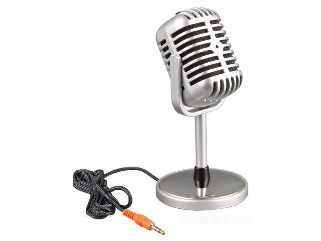 Cool Capacitance retro wired mic computer microphone for ...