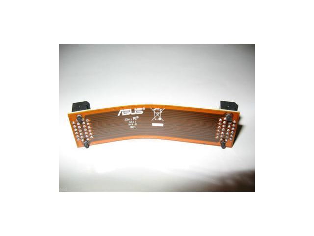 "2PCS NVIDIA GeForce Video Graphics VGA Card Flexible SLi Bridge Connector Cable,4.7"" ASUS Long Flexible SLI Bridge PCI-E Video Connector Cable"