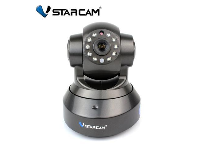 Vstarcam P2P 1.0 MegaPixel 720P HD Pan/Tilt Wireless Wifi Dual Audio IR Cut Night Vision Plug&Play Network IP Camera with TF Micro SD Slot Motion Sensor PnP Security Surveillance System CCTV WebCam