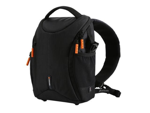 Vanguard OSLO 37BK Sling Bag - BLACK - Wear as Sling Bag or Backpack