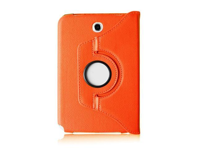 Orange Color 360 Rotating Case Cover Stand for Samsung Galaxy Note 8.0 n5100 n5110