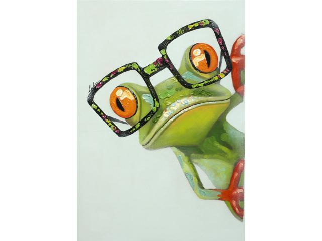 Four eyes painting