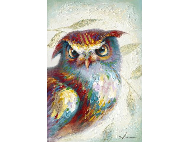 Larry the owl painting
