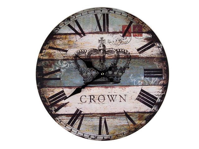 Crown clock
