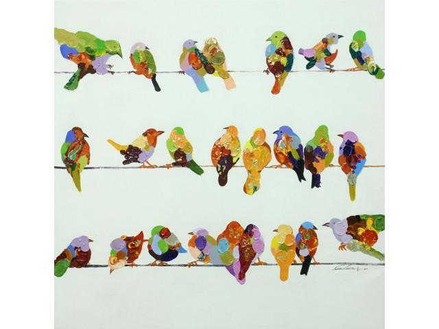 Birds birds birds painting