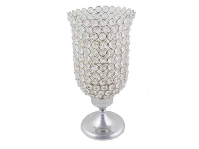 Cylindrical table votive with base