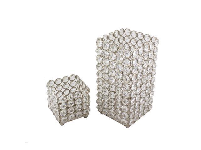 Square table votives