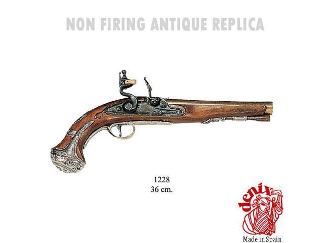 Flintlock pistol, george washington