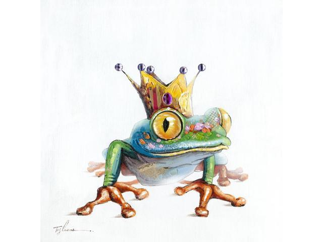 Frog prince painting