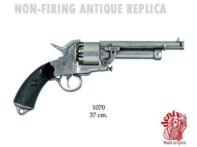 Replica le mat revolver, civil ware, usa 1861-1865