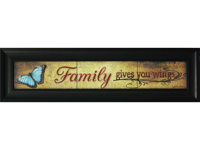 Family gives you wings painting