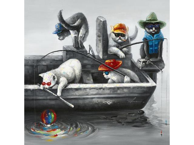 Fishing time painting