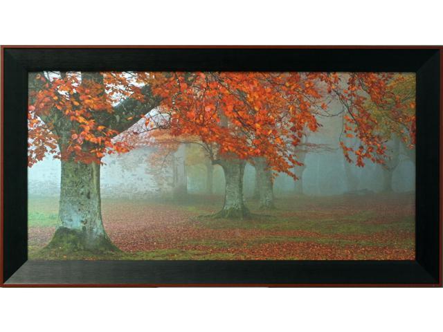 Laminat - arboles rojos painting