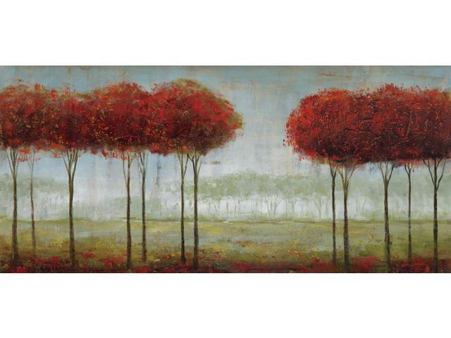 Tall trees painting