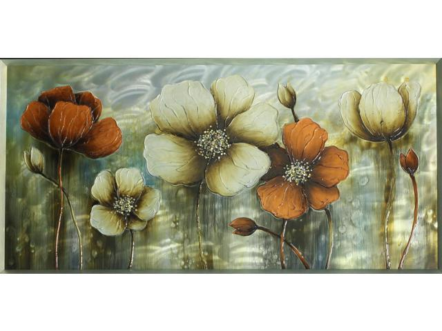 Poppies on display painting