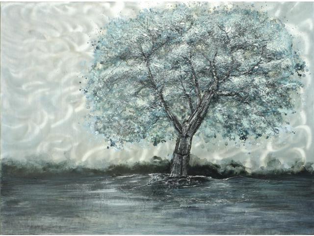 True blue painting
