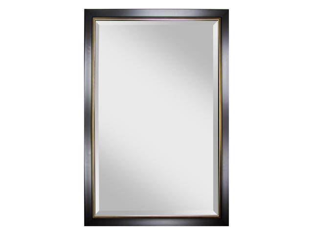 Large double bordered wall mirror